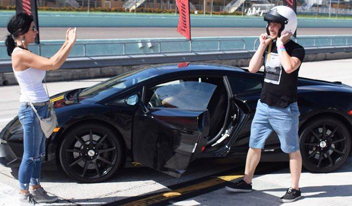 Homestead Speedway Ferrari Driving