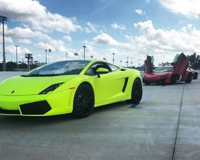 Lamborghini Driving Miami