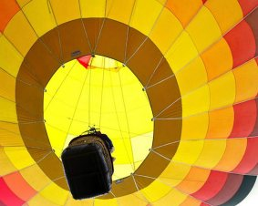 Fenton Hot Air Balloon Flight