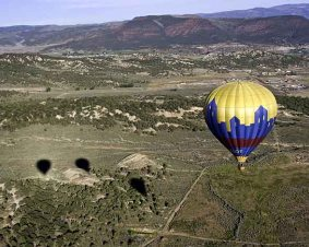 Vail Valley Hot Air Balloon Ride