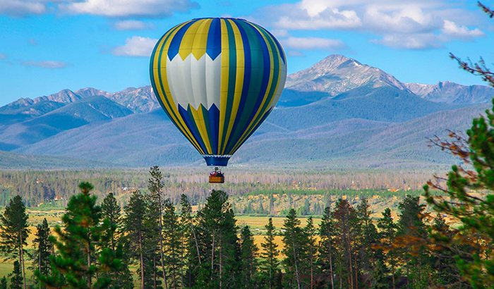 Winter Park Hot Air Balloon Ride