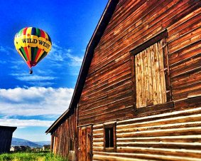 Steamboat Balloon Ride