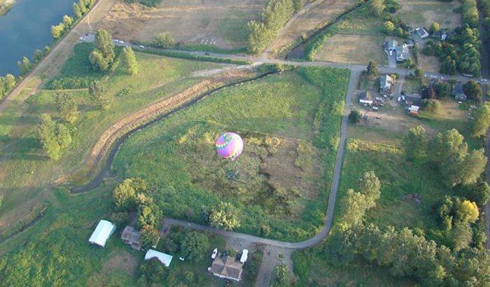 Seattle Hot Air Balloon Ride