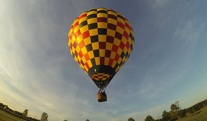 Hot Air Ballooning Over Delmarva