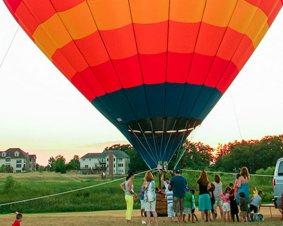 Chicago Hot Air Balloon Ride