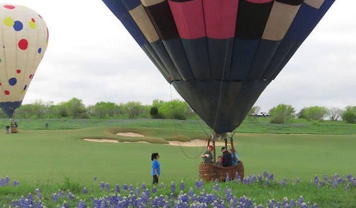 Houston Hot Air Balloon Flight