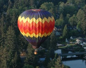 Portland Balloon Ride