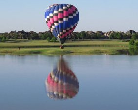 Houston Hot Air Balloon Flight