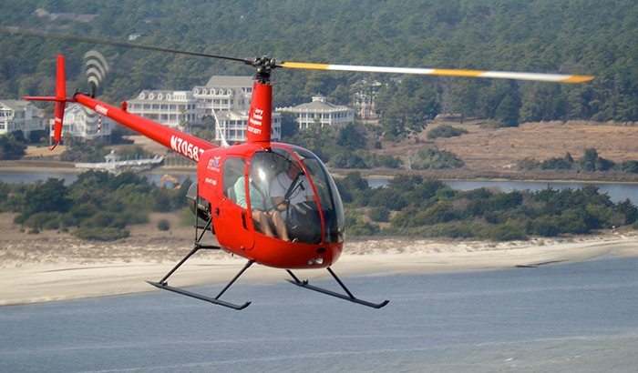 Cape Fear Helicopter Flight Lesson