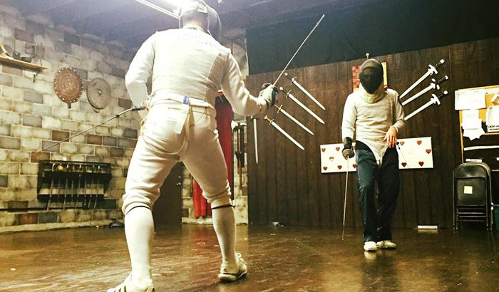 Los Angeles Intro to Fencing Classes