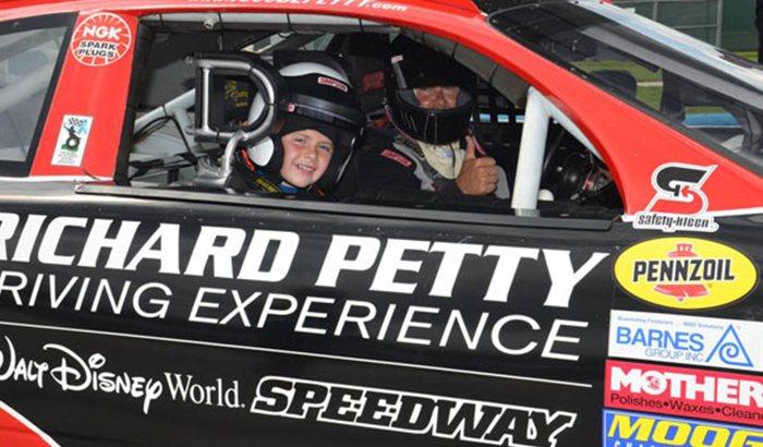 Daytona International Speedway Junior Ride Along
