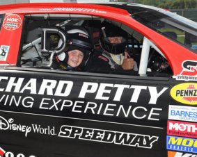 Kansas Speedway Junior Ride Along