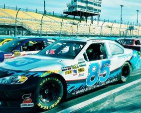 Kansas Speedway NASCAR Ride Along