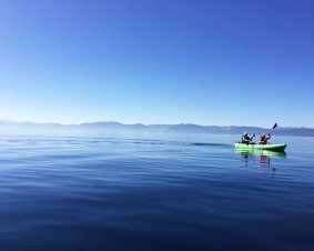 Sand Harbor Kayaking For Two On Lake Tahoe