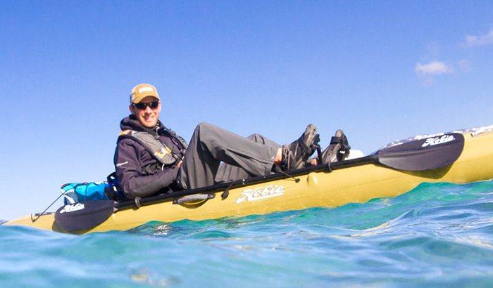 Kayaking For Two On Lake Tahoe
