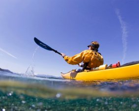 Kayaking For Two On Lake Tahoe