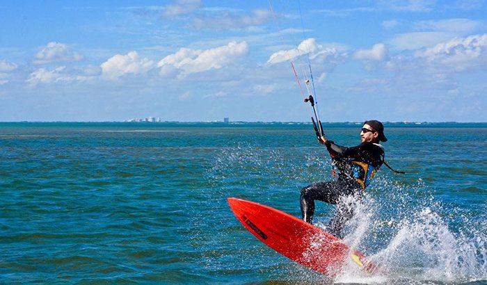 Miami Kiteboarding Lesson