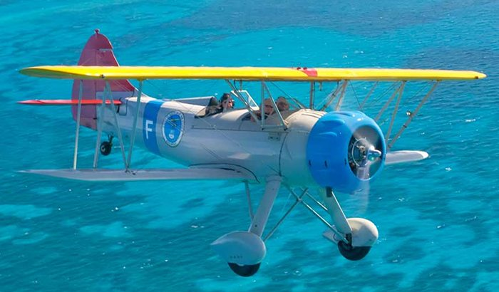 Biplane Ride Over Key West