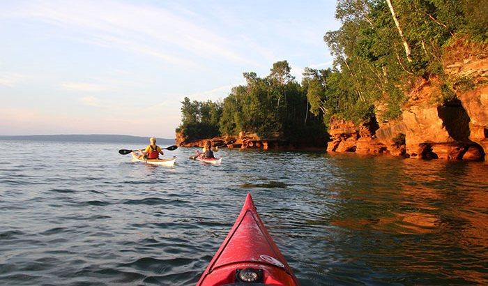 Kayaking on Lake Superior For Two