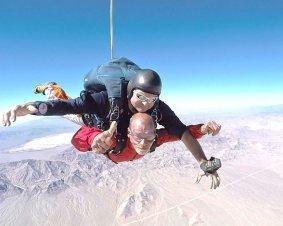 Tandem Skydive Las Vegas