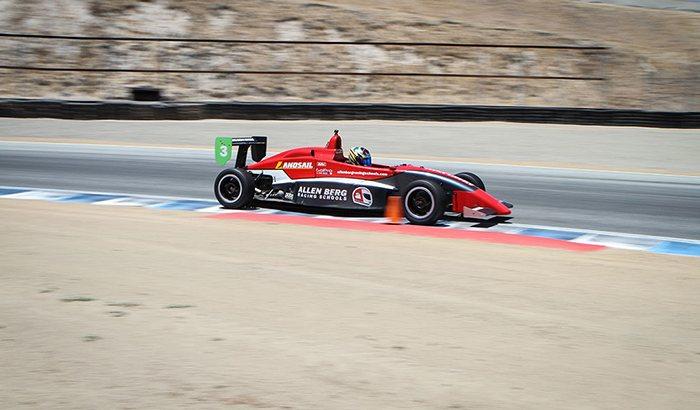 Laguna Seca Formula Car Driving