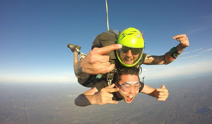 Tandem Skydive New England For Two
