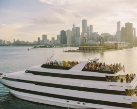 Gourmet Chicago Lunch Cruise For Two