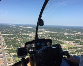 Detroit Helicopter Flight Lesson