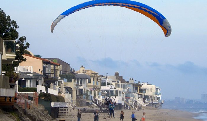 Introductory Powered Paragliding in Malibu