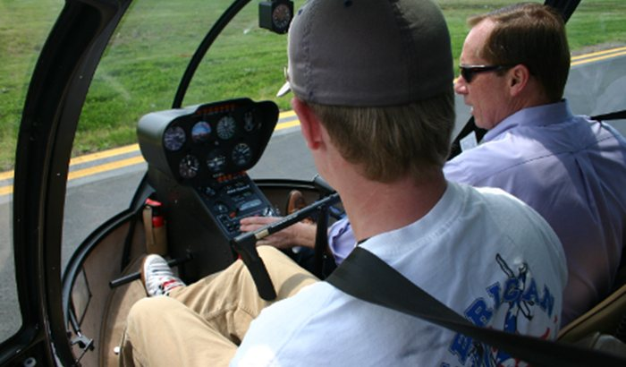 Helicopter Flight Lesson in Manassas