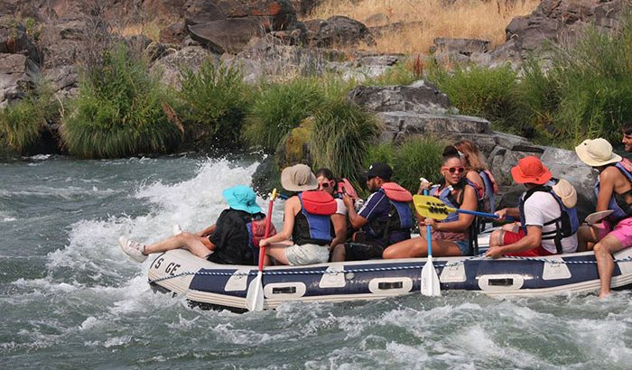 Deschutes Whitewater Rafting: Half Day For Two