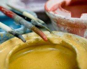 Ceramics Painting Class