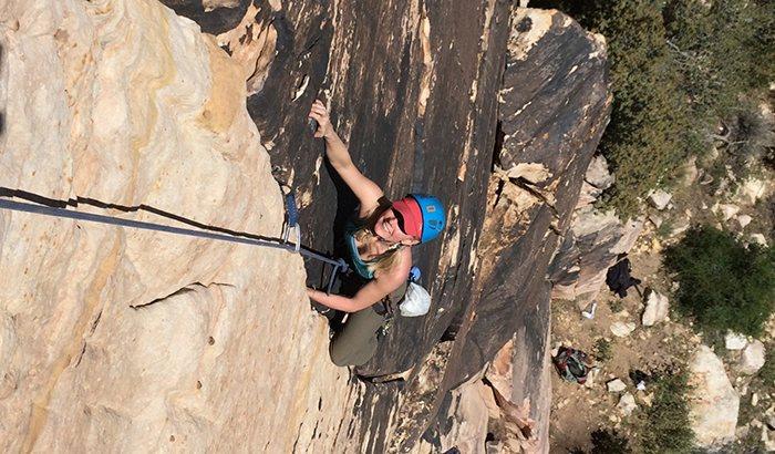 Mountain Skills Climbing Lesson