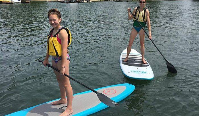 Charlotte Paddleboarding Lesson