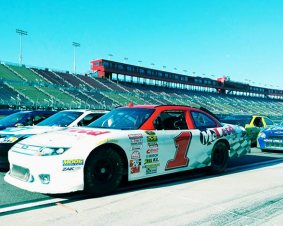 Myrtle Beach Speedway NASCAR Ride Along