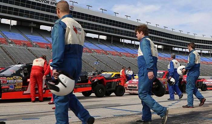 Texas Motor Speedway NASCAR Driving