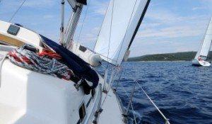 Barnegat Bay NJ Sailing for Two