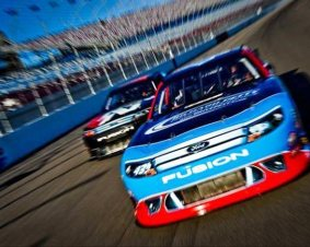 New Hampshire Motor Speedway NASCAR Ride Along