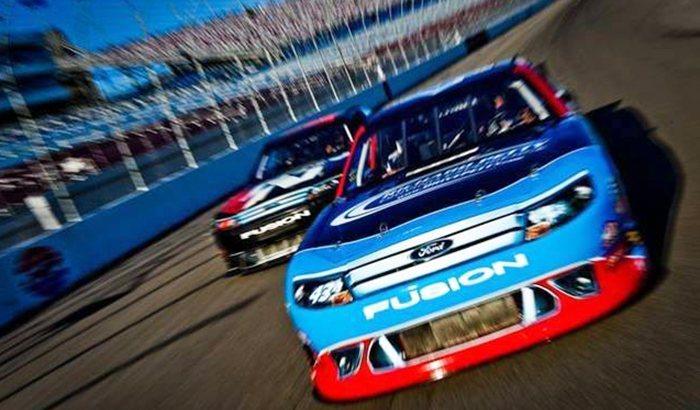 New Hampshire Motor Speedway NASCAR Ride Along