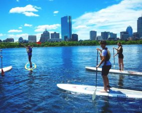 Boston SUP Lesson