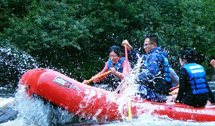 Whitewater Rafting New York or Pennsylvania