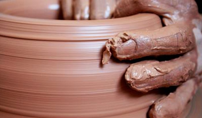 Meditations In Clay Pottery Class