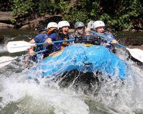 Rafting the Ocoee River
