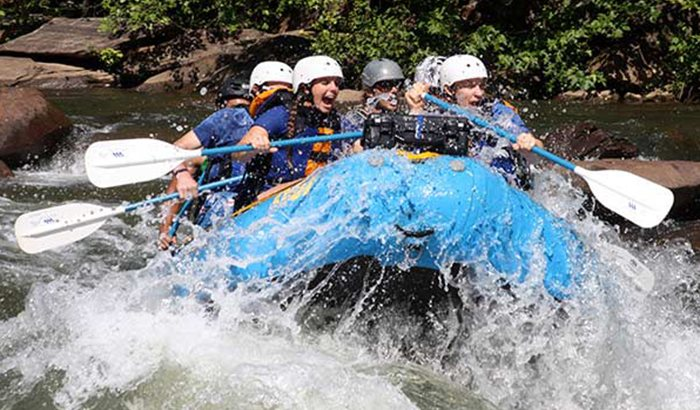 Rafting on the Ocoee River for Two