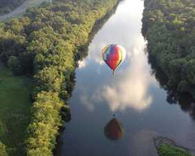 Catskill Hot Air Balloon Ride