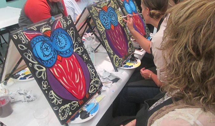 Bloomington Painting Class