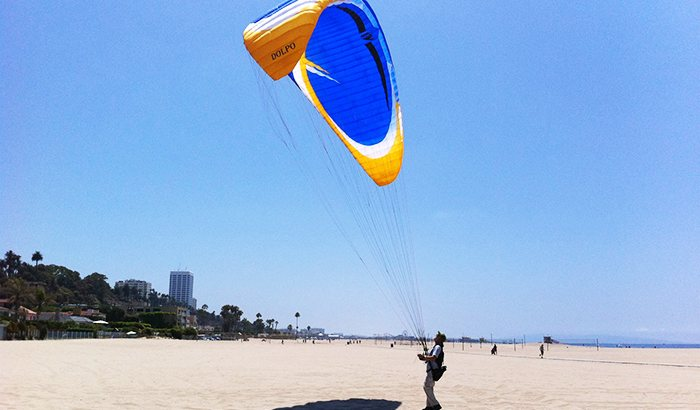 Paragliding Experience Over Malibu