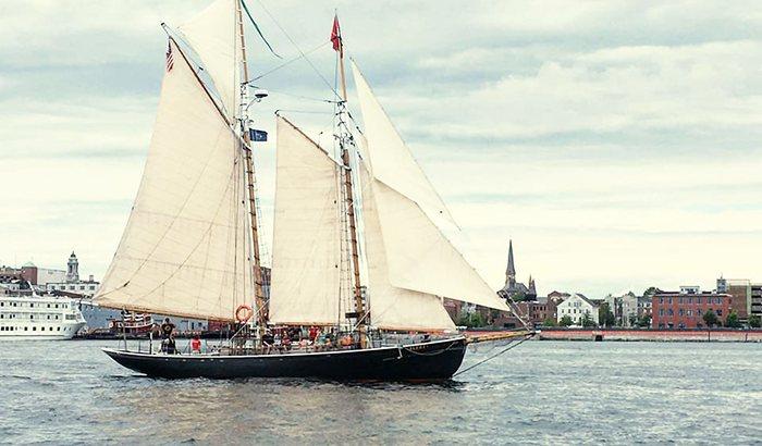 Schooner Sailing Portland Maine