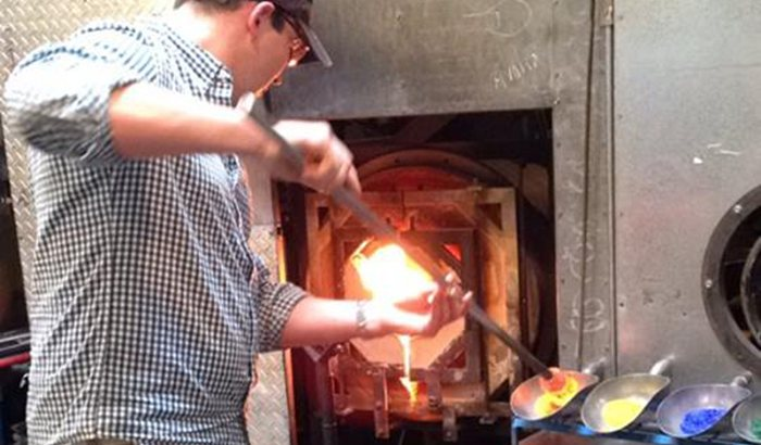 Private Glassblowing Lesson in Seattle