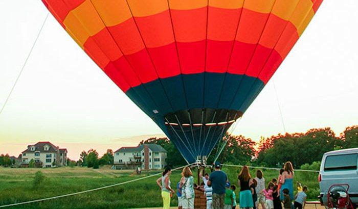 Private Chicago Hot Air Balloon Flight